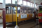 Aarhus sidecar 54 inside the depot Gl. Valby remise (2013).