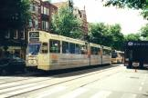 Amsterdam articulated tram 788 on extra line 20 on Rozengracht (2000)