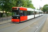 Bremen low-floor articulated tram 3060 on tram line 4 at the stop Horner Kirche (2009).