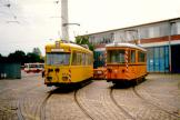 Bremen service vehicle AT 6 in front of the depot BSAG Zentrum (2002).