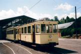 Brussels railcar AR.86 on the entrance square Tramway Historique Lobbes-Thuin (2007)
