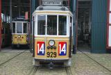 Copenhagen railcar 275 in front of the depot Gl. Valby remise (2016)