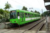 Hannover articulated tram 6246 on tram line 6 at the terminus Nordhafen (2008).