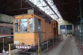 Lille tower wagon 912 inside the depository Saint Maur, front view (2008).