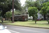 New Orleans railcar 972 on tram line 12 St. Charles Streetcar at the terminus S. Claiborne Avenue (2010)
