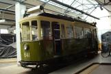 Nuremberg railcar 641 at the museum Historische Straßenbahndepot St. Peter (2013).