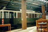 Nuremberg service vehicle A62 at the museum Historische Straßenbahndepot St. Peter (1998).