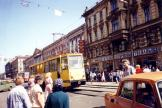 Saint Petersburg service vehicle 1830 near Metrostationen Mira (Spasskaya) (1992).