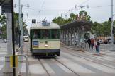San Francisco railcar 162 on tourist line F-Market & Wharves at the stop The Embarcadero & Ferry Building (2010)