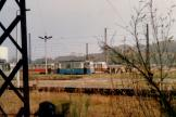 Schwerin workshop trolley at the depot Ludwigsluster Chaussee (1987)