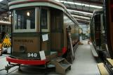 Sydney prison tram 948 at the museum Sydney Tramway Museum (2015)