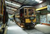 Sydney railcar 290 at the museum Sydney Tramway Museum (2015)