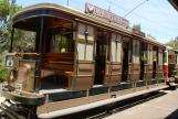 Sydney railcar 675 at the museum Sydney Tramway Museum (2015)
