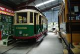 Sydney service vehicle 134 at the museum Sydney Tramway Museum (2015)