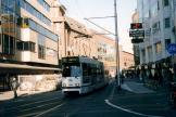The Hague articulated tram 3030 on tram line 6 on Grote Marktstrasse (2003)
