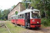 Vienna articulated tram 4773 on Hannover museum line Hohenfelser Wald at the stop Hohenfelser Mitte (2016).
