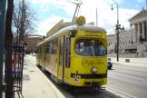 Vienna articulated tram 4866 on tourist line Ring-Tram at the stop Stadiongasse/Parlament (2010).