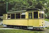 Wuppertal railcar 105 on museum line BMB at the stop Kohlfurther Brücke