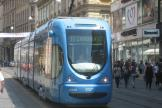 Zagreb low-floor articulated tram 2248 on tram line 11 on Ilica ulica (2008).
